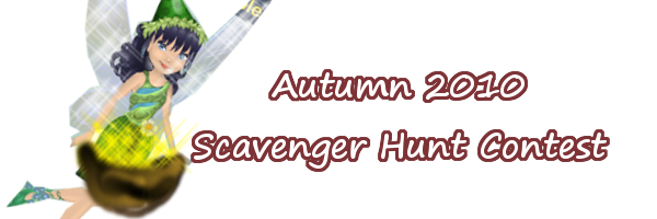 Fall 2010 Scavenger Hunt Ariann12