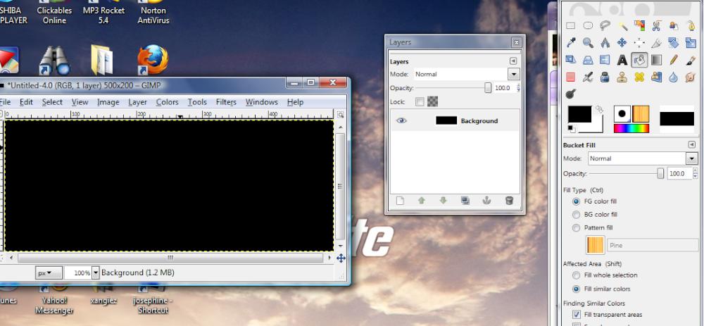 Basic GIMP Outlined Text Gimp_g10_1000x1000