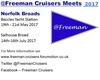 Info on the 2017 Broads meets. Feel free to distribute to any Freeman owners you may meet