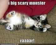 I scary monster