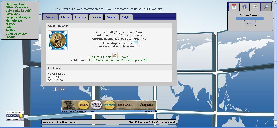Anotaciones vNations: La Interfaz Vnatio16