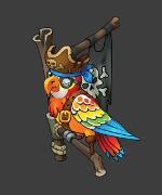 Larry, the parrot