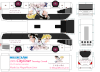 Here's the 3rd (and last; sorry) Sailor Moon Sacrifice official coach. The livery is the same; the bus design, a bit more detailed, as you have a fifth piece (the air conditioner) to assemble on. To have the A/C correctly installed, the air inlets (black traces) and fans (right behind the air inlets) must be turned forward, like the real thing! The rest, you may know how to assemble; otherwise, contack me for further informations, as well as for the other paperbuses with my signature!  Sayonara, and thank you for your support on this Board!  Regards, MegaMoonLiner Graphic Designer