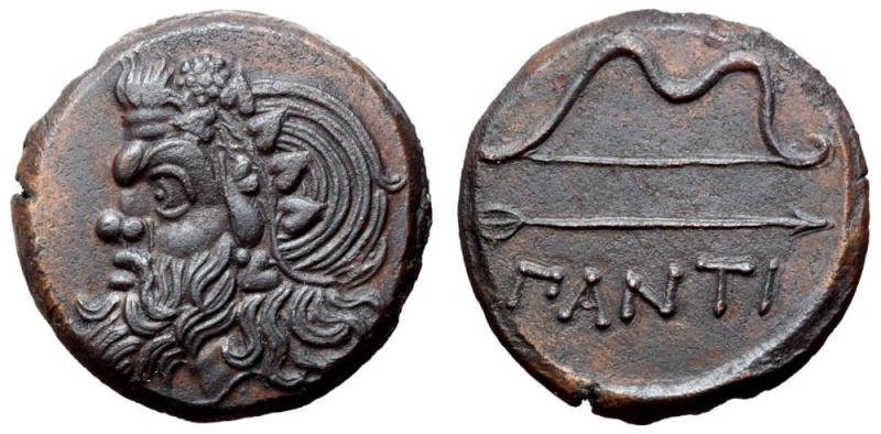 Bronce de Panticapeo (Kerch, Península de Crimea). Reino del Bósforo Cimerio. 340-325 a.C.