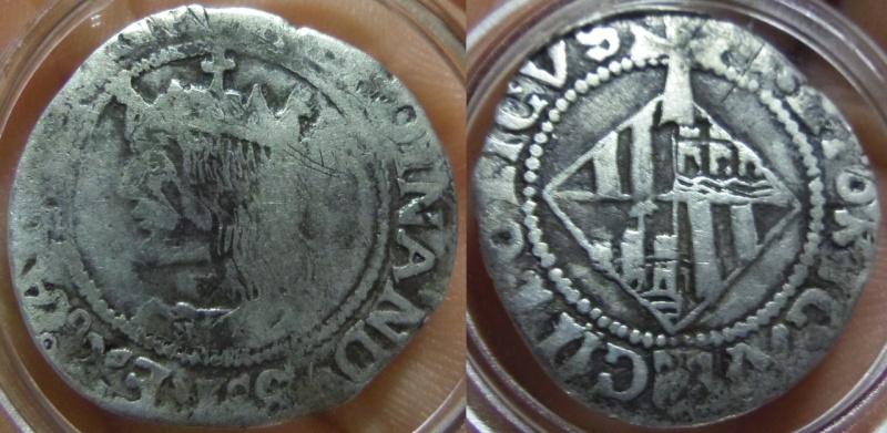 1 Real. Fernando II de Aragón (V de Castilla). Palma de Mallorca. S/F (1479-1516).