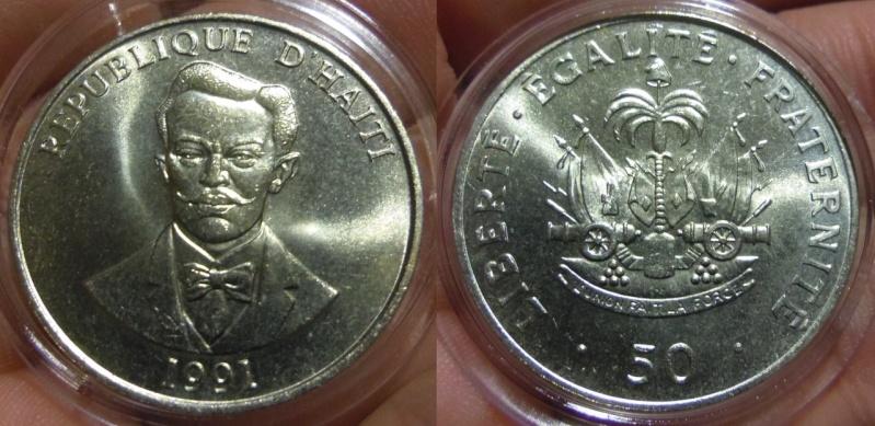 50 Céntimos. Haití. 1991. SC.