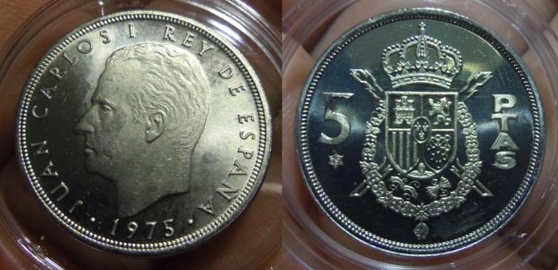 5 Pesetas. Juan Carlos I. Madrid. 1979. Acabado: ARM.