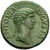 Monedas de Emperatrices Romanas Antoni55