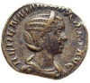 Monedas de Emperatrices Romanas Hereni12