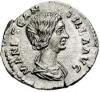 Monedas de Emperatrices Romanas Manlia10