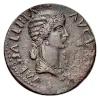 Monedas de Emperatrices Romanas Mesali10