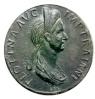Monedas de Emperatrices Romanas Plotin10