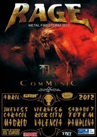 <<CRÓNICA>> RAGE + TYR + COMMUNIC + SCAR OF THE SUN (05/04/2012) Sala Caracol (Madrid)  Rage-c10