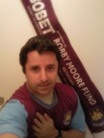 West Ham fan arlesien