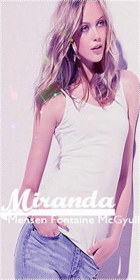 Miranda Fontaine McGyull
