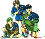 Fire Emblem 6 : The Binding Blade 770-10