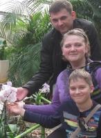 Лилия, Сергей и Лёшик 34а