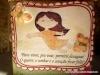 Oi, de uma caixinha de sabonete criei essa de presente usando o lindo kit Primavera de Ciane.