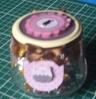 Pote decorado com o kit digita mãe by Ciane