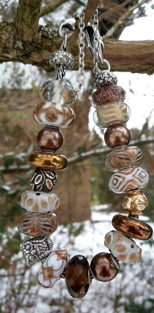 ...here are my Winter bracelets: 20170112