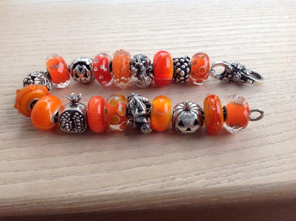 bright orange dillo bracelet Img_5023