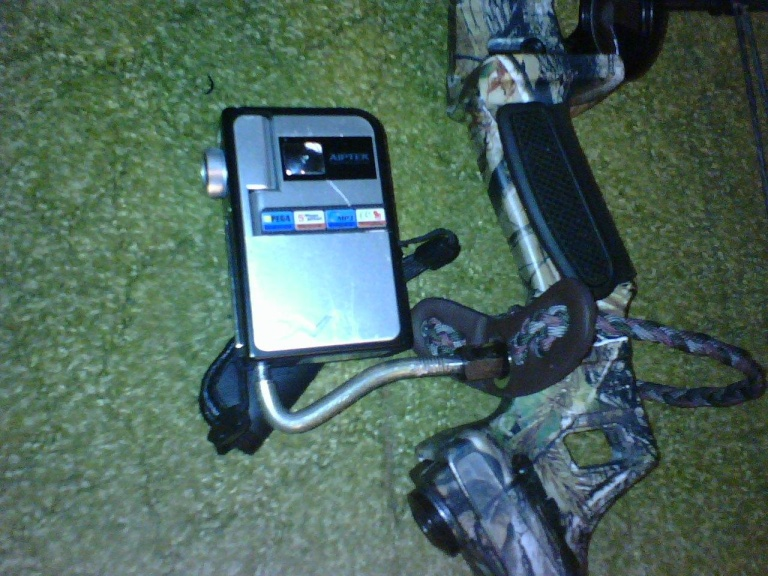 Homemade camera mount for my bow 10150210