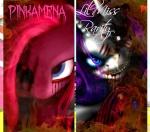 Pinkamena~x~LilMissRarity