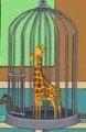 Giraffeinacage