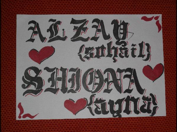 alzay and shiona :D