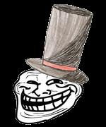 Troll au chapeau