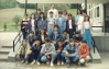 Razred 8B Osnovne shkole ,,Ivan Markovic Irac,, Lopare, fotografisano 13.05.1988.