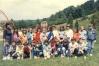 Razred 4A Osnovne shkole ,,Ivan Markovic Irac,, Lopare, fotografisano 30.05.1990.