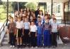 Razred 5. ,,Jedan,, Osnovne shkole ,,Sveti Sava,, Lopare, fotografisano juna 2000.