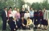 Nastavnici Osnovne shkole ,,Ivan Markovic Irac,, Lopare, fotografisano 13.05.1988.