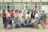 Nastavnici Osnovne Shkole ,,Ivan Markovic Irac,, sa Cvijetinom Mijatovic Majom, fotografisano 14.06.1986.