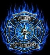 Blue Firefighter