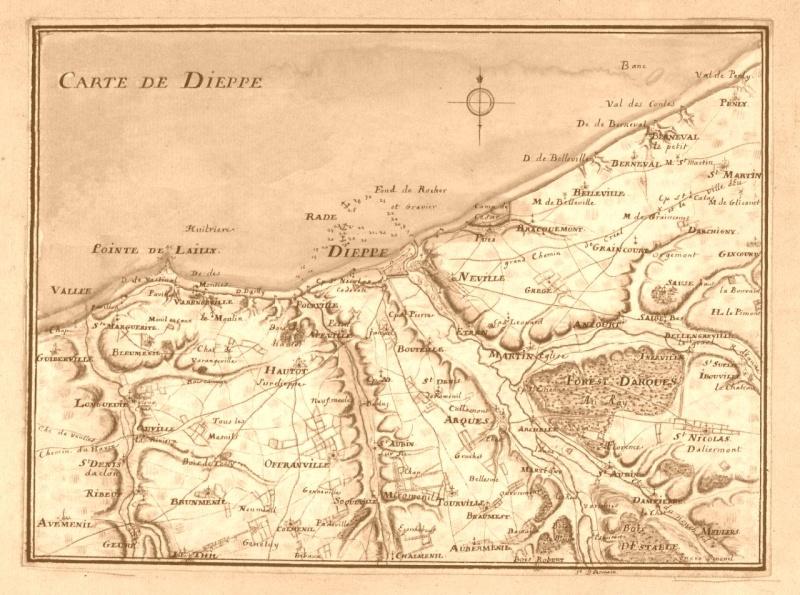 Carte de Dieppe