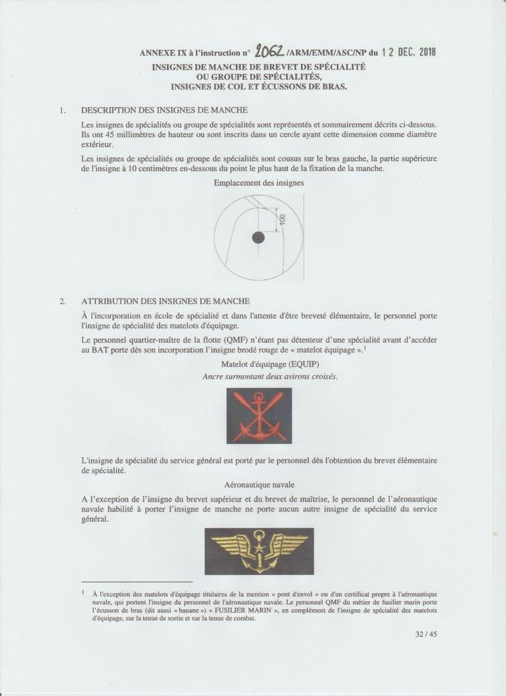 [LES TRADITIONS DANS LA MARINE] LE PORT DES DÉCORATIONS - Page 13 Numyri24