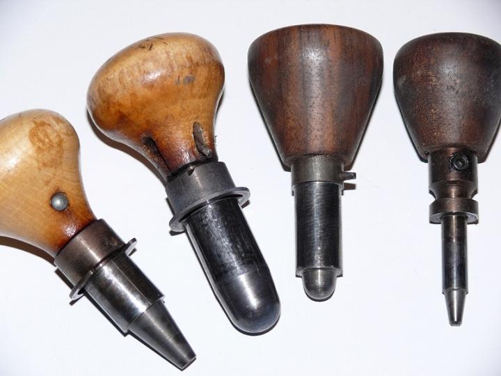 réparation d'un pin pour moule minnier ou pointe creuse Compar10