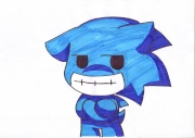 Evil Sonic Chibi