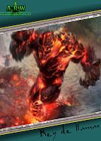 rey de llamas