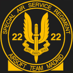 22 SASR Airsoft team