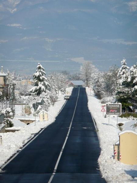 Il sereno dopo la neve