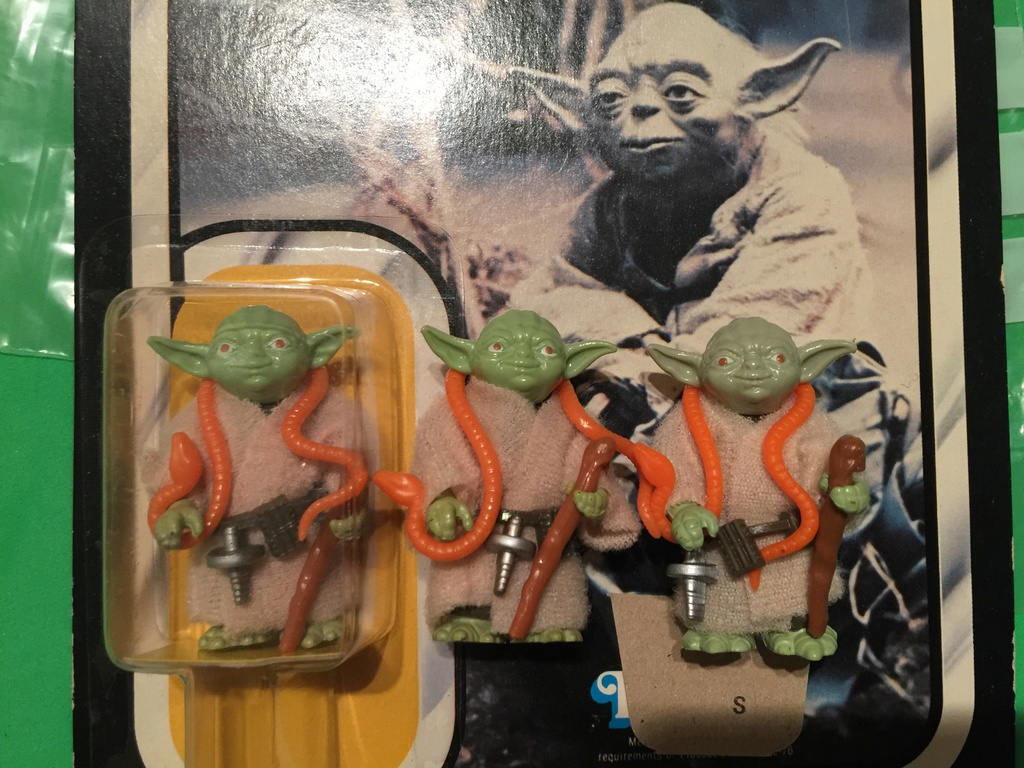 Making Sense out of Yoda's Cane Colors 115