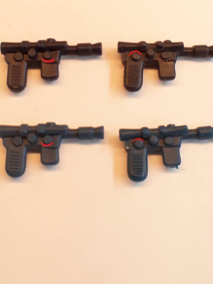 Fake Rebel blasters & telescoping sabers 26165510