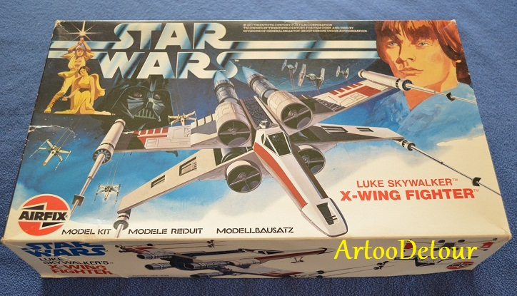 Luke X-Wing Pilot / X-Wing Fighter focus *** Updated March 2015 Airfix11