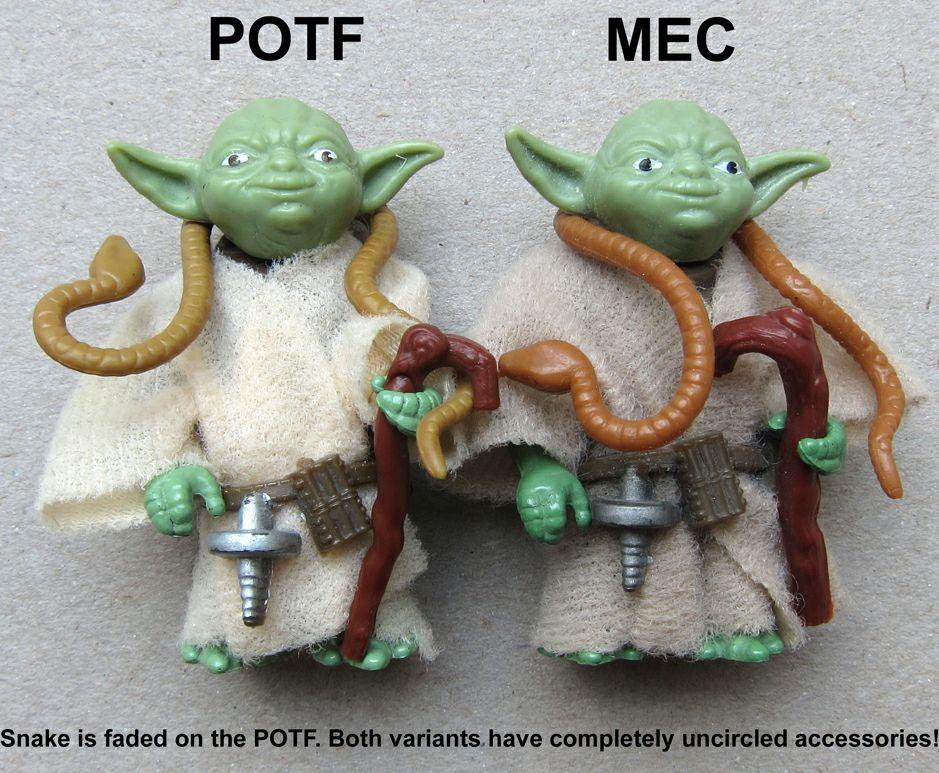 Meccano Yoda vs POTF Yoda Img_0544