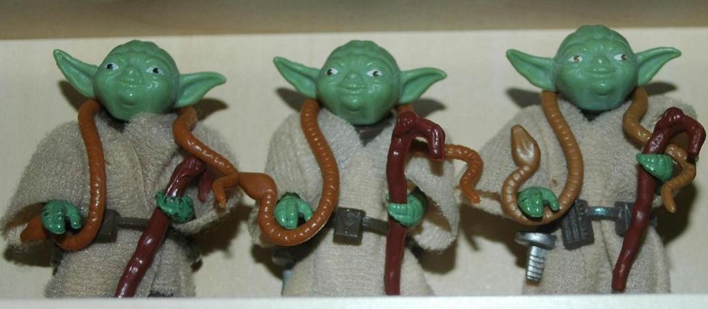Meccano Yoda vs POTF Yoda No_coo14
