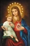 Douce et Sainte Vierge Marie priez pour nous avec Jésus le « tout Amour ». 757750
