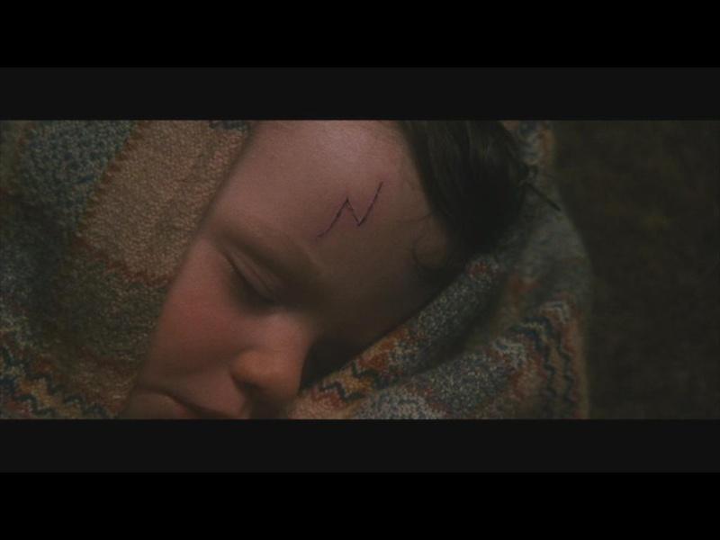 Harry Potter à Lécole Des Sorciers Cicatrice Harry Potter
